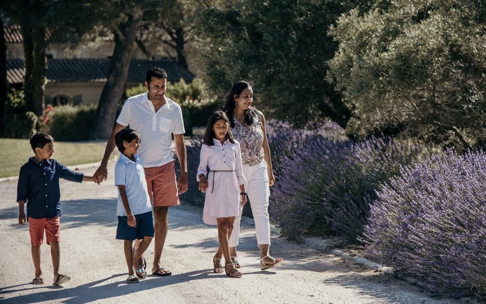 Photographe portrait de famille en vacance