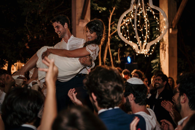 Dancefloor mariage au château de vergières