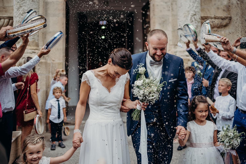 Mariage religieux à Aniane