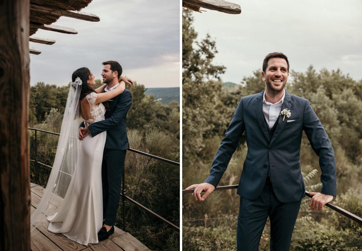 Mariage dans le gard au domaine de brès