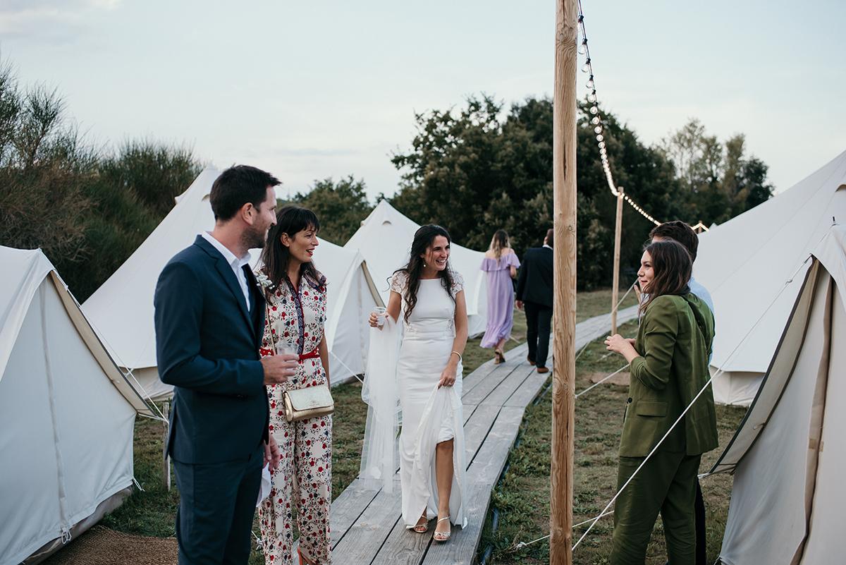 Mariage au Domaine de Brès et logements insolites pour les invités