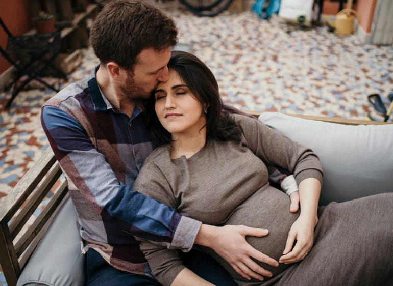 Photographe maternité à Montpellier